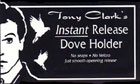Instant Release Dove Holder, Black by Tony Clark